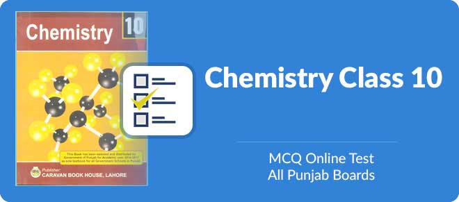 Get multiple choice test online for Chemistry matric part two