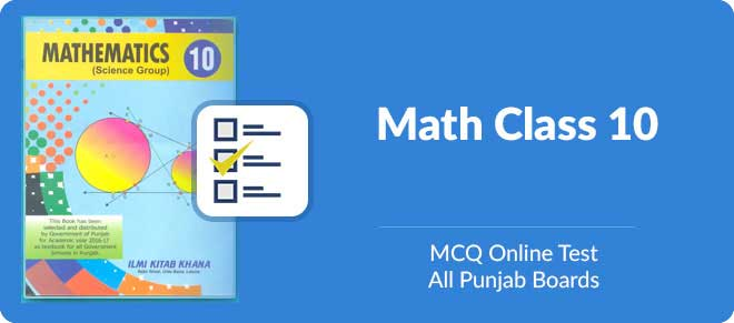 Free online multiple choice maths test for Matric