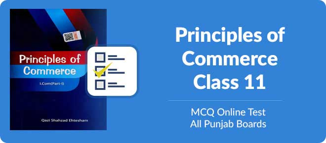 11th class mcqs with answers for principle of commerce