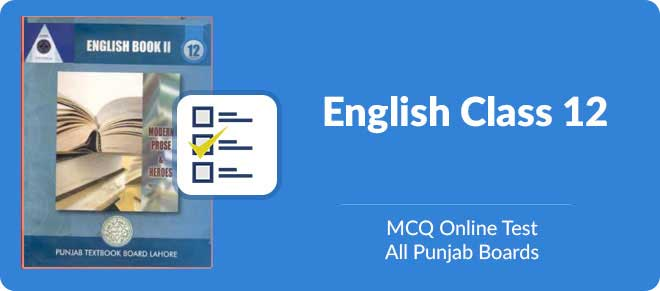 mcqs of english 2nd year with answers 2018   Online test 2nd year