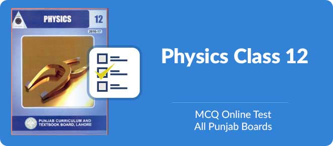 mcqs of physics 2nd year with answers chapter 12
