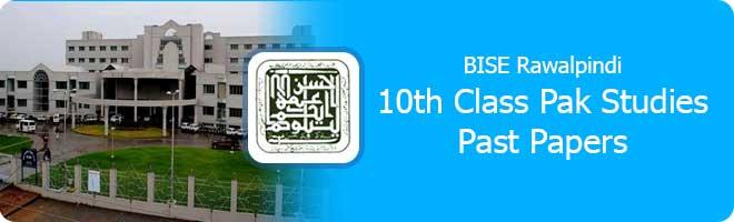 10th Class Pak Studies Past Papers Rawalpindi Board