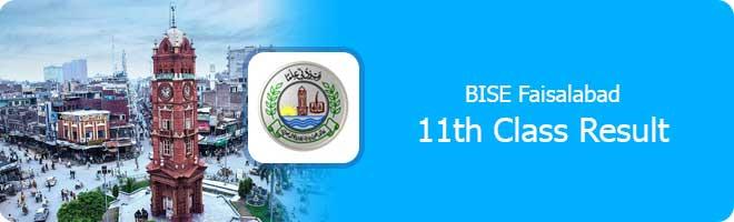 1st year result 2021 Faisalabad board