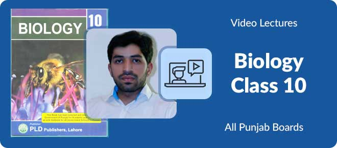 10th class Biology video lectures